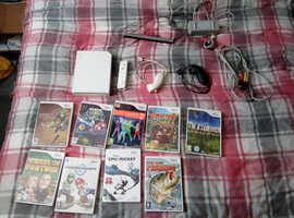Wii console accessories, leads games