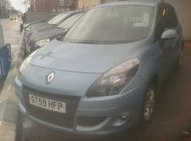 Renault Scenic, 2009 (59) Blue MPV, Manual Petrol, 89,000 miles