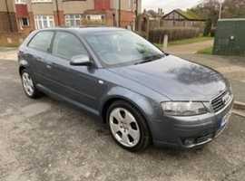 Audi A3, 2005 (05) Grey Hatchback, Automatic Diesel, 148,000 miles