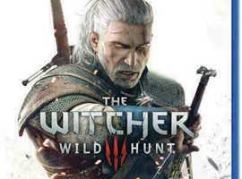 PS4 Witcher Wild Hunt 3