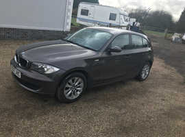 BMW 1 series, 2007 (07) Brown Hatchback, Manual Diesel, 135,000 miles