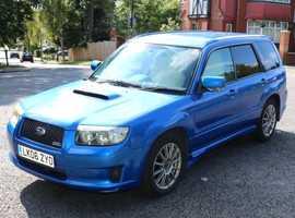 Subaru Forester, 2006 (06) blue hatchback, Automatic Petrol, 78327 miles