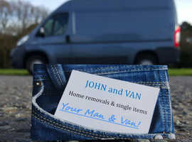 JOHN and VAN - Professional house removals / Cheap man and van services
