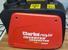 clarke inverter generator 800 watts not your B and Q crap