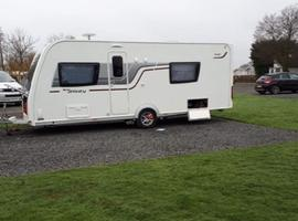 Elddis Affinity Caravan 2016 4 berth with fixed bed and end bathroom