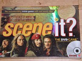 Pirates Caribbean Deads Men Chest Scene It Dvd Interactive Trivial Boad Game