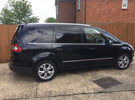 Ford Galaxy, 2011 (61) Black MPV, Manual Diesel, 378,126 miles