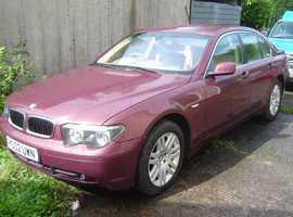 BMW 745i Auto 2002