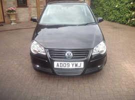 Volkswagen Polo, 2009 (09) Black Hatchback, Manual Petrol, 60,242 miles