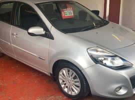 Renault Clio, 2012 (62) Silver Hatchback, Manual Petrol, 63,761 miles