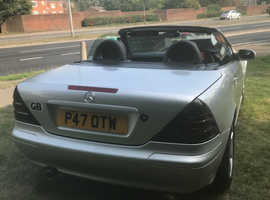 Mercedes Slk, 1997 (P) Silver Convertible, Automatic Petrol, 65,000 miles