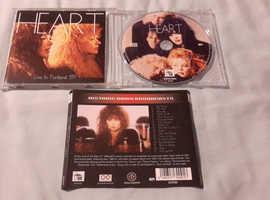 Heart Live In Portland '89 AOR Rock Ann Wilson Nancy Wilson Fantastic CD
