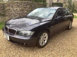 BMW 740, 1997 (R) Blue saloon, Automatic Petrol, 57000 miles