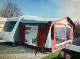 Caravan AWNING Dorema  Montana size 10 With Fibre Tech poles