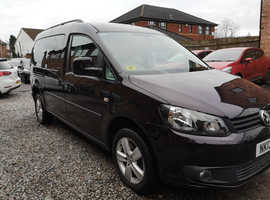 VW CADDY MAXI C20 LIFE 2013, WHEELCHAIR ACCESSIBLE, AUTOMOTIVE GROUP CONVERSION