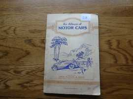 ALBUM OF MOTOR CARS SERIES 1;  COMPLETE 50 CARDS