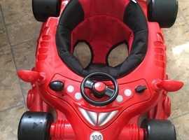 Babies racing car baby walker