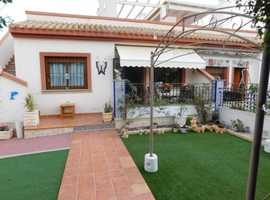 San Miguel De Salinas, Costa Blanca, Lovely 2 Bed Bungalow on Large Plot with Wonderful Views in Gated Community