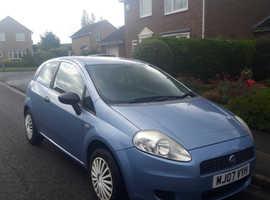 Fiat Grande Punto, 2007 (07) Blue Hatchback, Manual Petrol, 162,792 miles