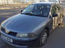 Mitsubishi Carisma, 2003 (03) Grey Hatchback, Manual Petrol, 117,200 miles