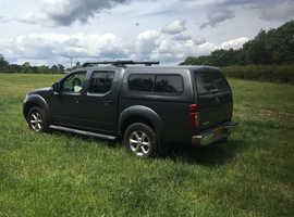 Nissan Navara, 2013 (13) grey 4x4, Manual Diesel, 61000 miles