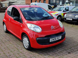 Citroen C1, 2006 (06) Red Hatchback, Manual Petrol, 96,793 miles