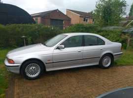 BMW 5 Series, 1999 (V) Silver Saloon, Manual Petrol, 214,000 miles