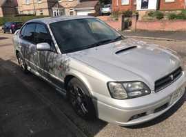 Subaru Legacy, 2002 (52), Manual Petrol, 126,000 miles
