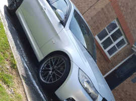 BMW 3 Series, 2008 (08) Silver Saloon, Manual Diesel, 129,000 miles