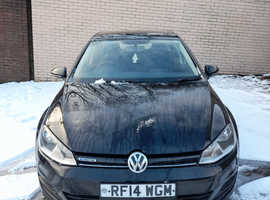 Volkswagen Golf, 2014 (14) Black Hatchback, Manual Diesel, 81,800 miles
