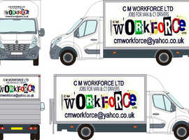 Delivery Drivers 3.5t & 7.5t Avonmouth
