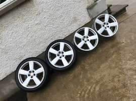 18 inch RS6s 5x100