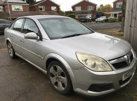 Vauxhall Vectra, 2007 (07) Silver Hatchback, Automatic Diesel, 130,000 miles