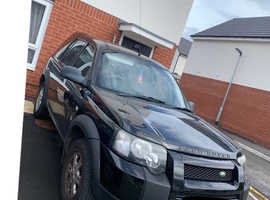 Land Rover Freelander, 2004 (04) Black Estate, Manual Diesel, 135,000 miles