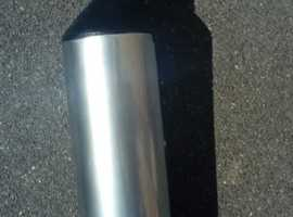 VERY RARE -  Quality Original Silencer for Yamaha FZR1000 EXUP motorcycle. 1991-1995.