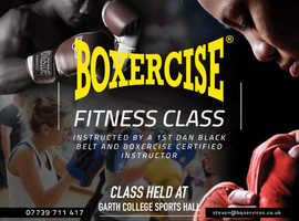 Kickboxing/Boxercise Fitness Classes