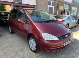 Ford Galaxy, 2004 (54) Red MPV, Manual Diesel, 121,000 miles