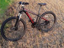 Ghost hybrid mountain bike