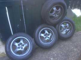 16inch alloy wheels (winter tyres)