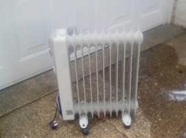Mistrial oil column heaters