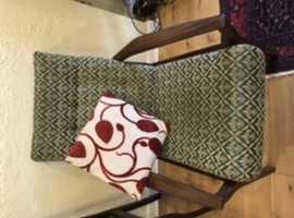 Retro 1970's armchairs
