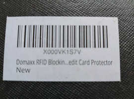 Domaxx RFID blocking mens wallet