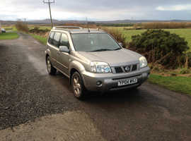 Nissan X-TRAIL,4X4  2004 (04) Silver Estate, Manual Diesel, 95,514 miles