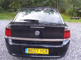 Vauxhall Vectra, 2007 (07) Black Hatchback, Manual Diesel, 202,000 miles