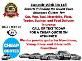 Cheap lowest Price Car/ Taxi/ Van/ Motorbike/ Food delivery/ Business Insurance.
