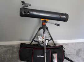 Celestron Astromaster lt 76az telescope + accessory bundle
