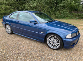 BMW 3 Series, 2002 (52) Blue Coupe, Automatic Petrol, 89,800 miles
