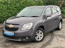 Chevrolet Orlando, 2011 (11) Grey MPV, Manual Petrol, 90,000 miles