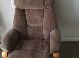 Reclining chair and footstool