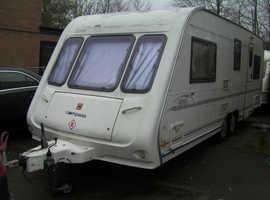2002. Compass Aztec 620 twin axle caravan